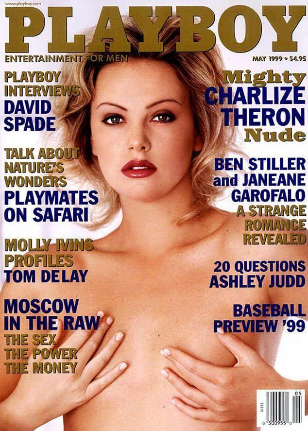 <p><strong>Issue: </strong>May 1999</p><p>Even Oscar winners have covered <em>Playboy</em>. Case in point: Charlize Theron's May 1999 cover. </p>