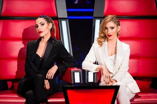 The Veronicas made a guest appearance on The Voice, stepping in for the Madden brothers. Image: Instagram