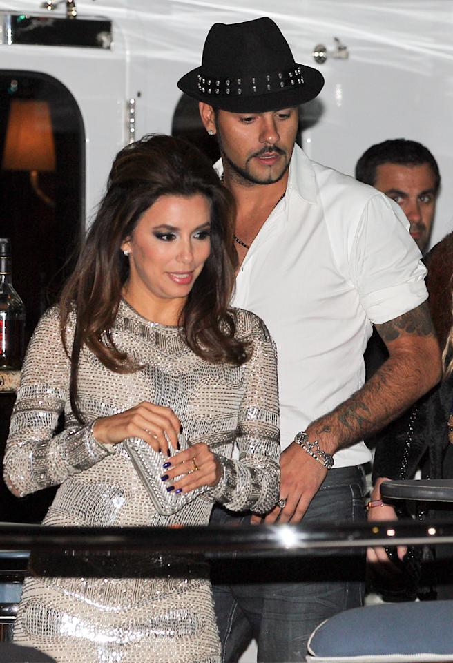 May 18, 2012: Eva Longoria and boyfriend Eduardo Cruz party in Cannes where they attending the 65th Cannes Film Festival.