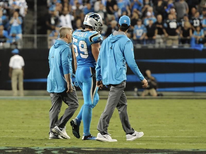 Carolina Panthers fan punches 62 year-old man in face