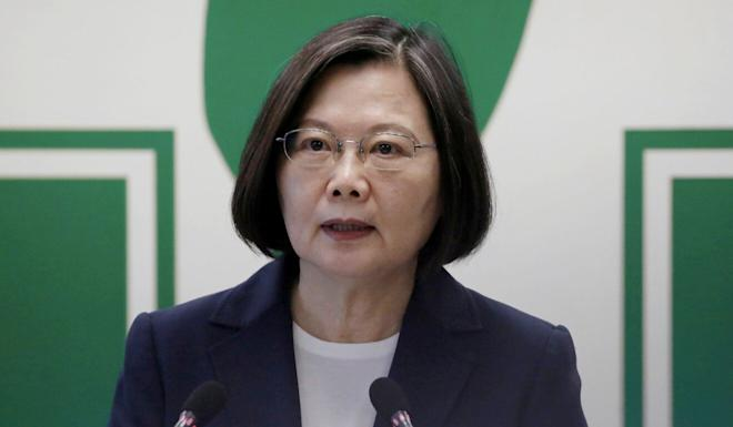Politicians say Taiwan's deal with the US will benefit President Tsai Ing-wen's New Southbound Policy. Photo: Reuters