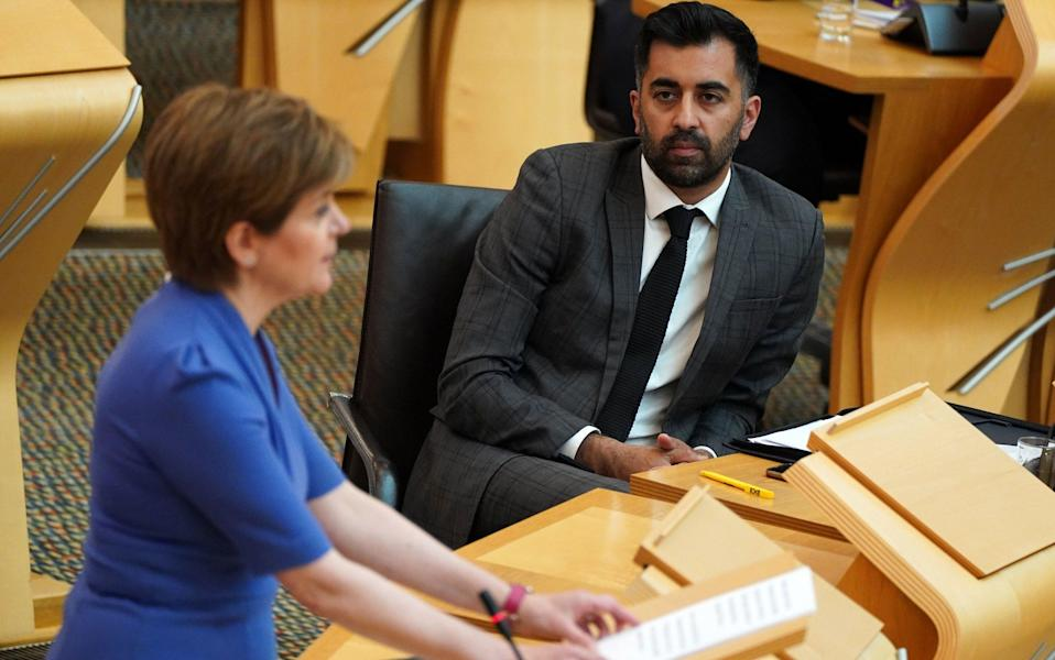 Scottish Parliament - Getty Images Europe