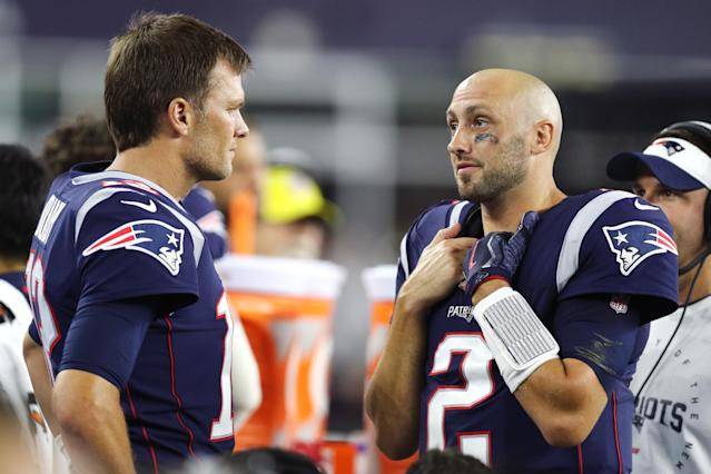 Will Brian Hoyer make his first career start with the Patriots? (Photo by Maddie Meyer/Getty Images)