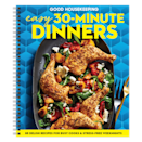"""<p><strong>Good Housekeeping </strong></p><p>goodhousekeeping.com</p><p><strong>$24.95</strong></p><p><a href=""""https://shop.goodhousekeeping.com/gh-easy-dinners-under-30-min.html"""" rel=""""nofollow noopener"""" target=""""_blank"""" data-ylk=""""slk:Shop Now"""" class=""""link rapid-noclick-resp"""">Shop Now</a></p><p>Over 85 irresistible yummy recipes for your skillet, sheet pan, multi-cooker, and grill that are ridiculously easy to whip up in 30 minutes or less!</p>"""