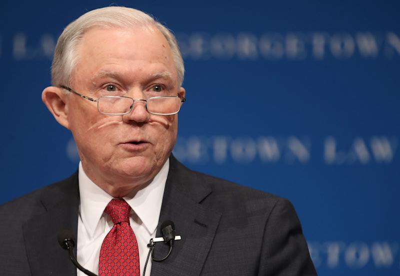 "Attorney General Jeff Sessions' Department of Justice singled out five jurisdictions Thursday that it said may be breaking the law with ""sanctuary"" policies."