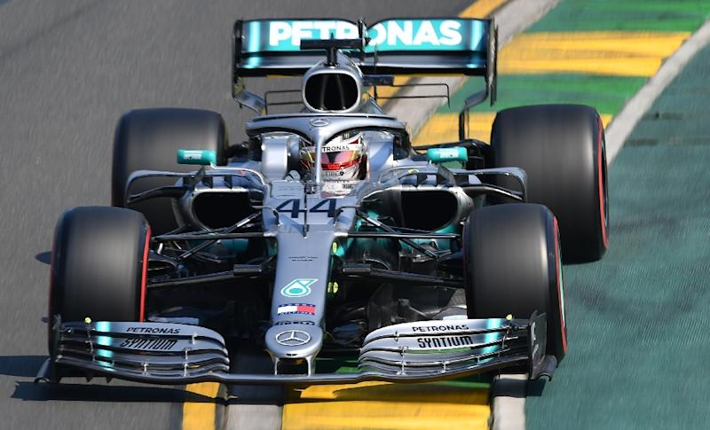 Lewis Hamilton followed up his pace-setting times on Friday to post a blistering one minute 22.292 seconds around Melbourne's Albert Park