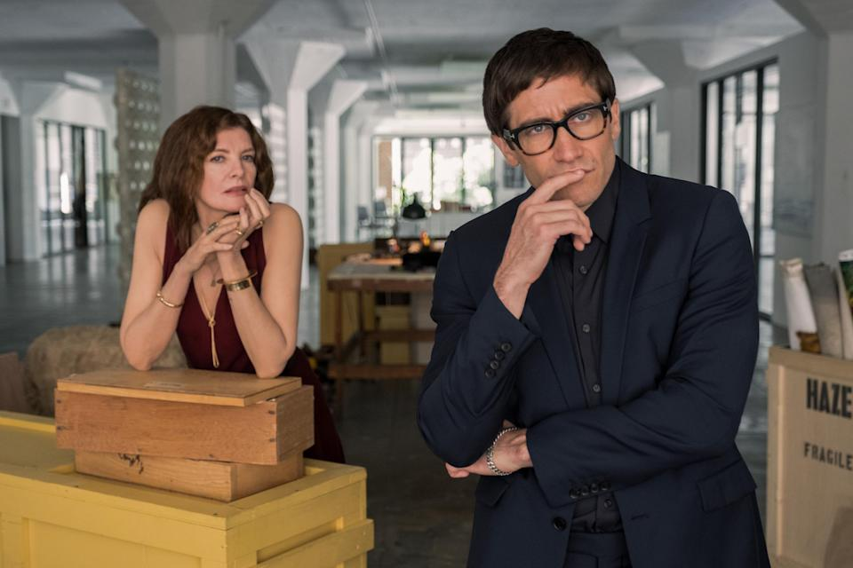 Rene Russo and Jake Gyllenhaal in 'Velvet Buzzsaw'Courtesy of Sundance Institute/photo by Claudette Barius
