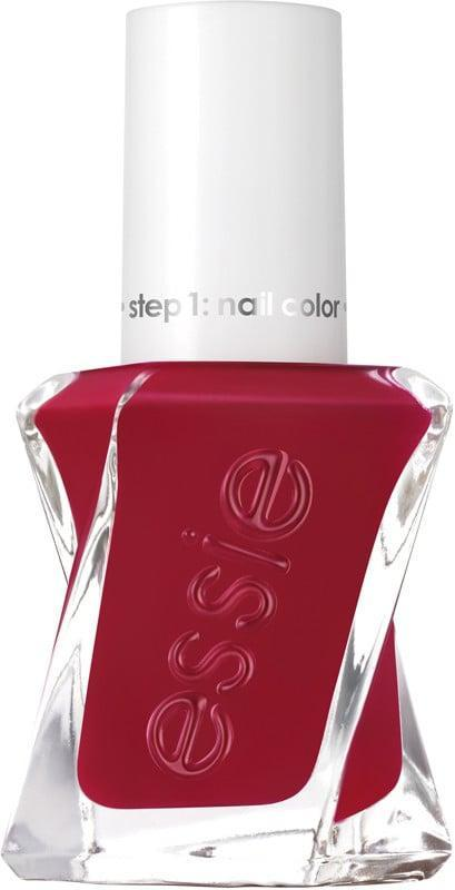 "<p>""This year has made me a bit more experimental with my nail polish choices, but I still love a good red for winter. The <span>Essie Gel Couture in Paint the Gown Red</span> ($12) is a beautiful, deep berry-red color that really makes your nails pop. It feels different and a little more exciting than your traditional, bright candy apple red (although that's another good option, too). No matter how many times I paint my nails this color, I never get tired of it."" - Jessica Harrington, associate beauty editor</p>"