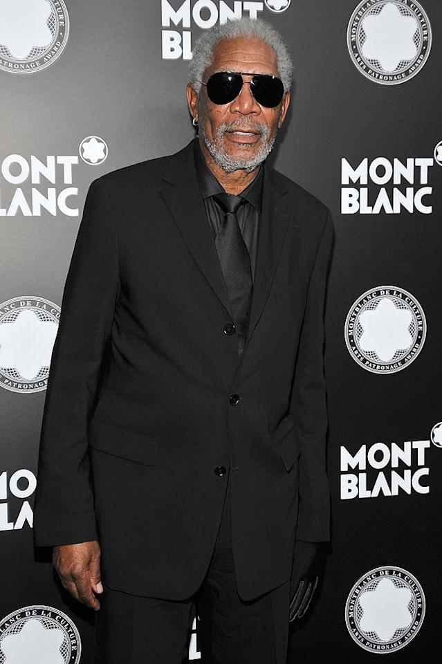 "<p class=""MsoNormal"">Hollywood heavyweights Morgan Freeman and Sidney Poitier -- Jones' longtime friends -- gave touching tributes to the jazz man and spoke about his groundbreaking achievements in the film industry where African Americans were not always accepted. (10/2/12)</p>"