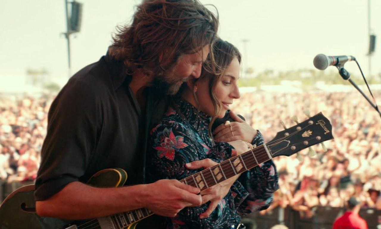 <p>Bradley Cooper and Lady Gaga sizzle on screen as a drug-addicted rock star and young ingenue who helps get her break into the music industry. Though at times it veers into overly sentimental territory there is a rawness to the performances and cinematography that grips your heart all the way through. </p>