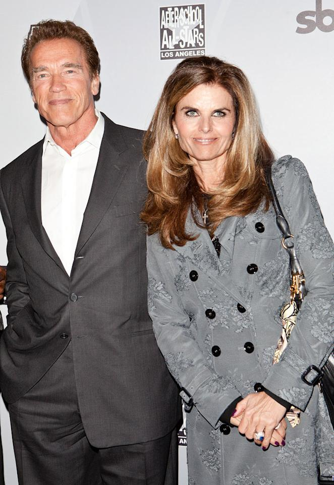 """Which celebrity split was the most shocking?   Big breakups happen in Hollywood all the time, but this year people found Arnold Schwarzenegger and Maria Shriver's split most shocking. They nabbed 44% of the vote, barely beating out Jennifer Lopez and Marc Anthony, who landed in second place with 42%. Chelsea Lauren/<a href=""""http://www.filmmagic.com/"""" target=""""new"""">FilmMagic.com</a> - February 18, 2011"""