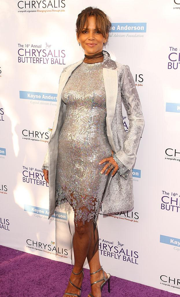 Halle Berry at the 16th Annual Chrysalis Butterfly Ball on Saturday. (Photo: JB Lacroix/WireImage)