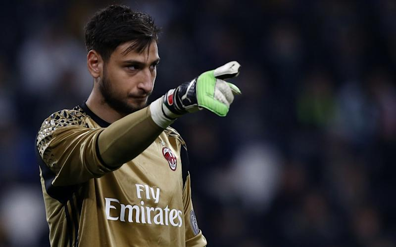 Gianluigi Donnarumma  - Credit: AFP