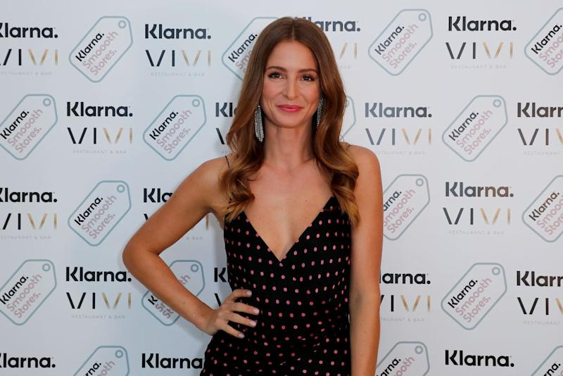 Millie Mackintosh has issued a warning to women not to believe everything they see on social media, pictured April 2019. (Getty Images)