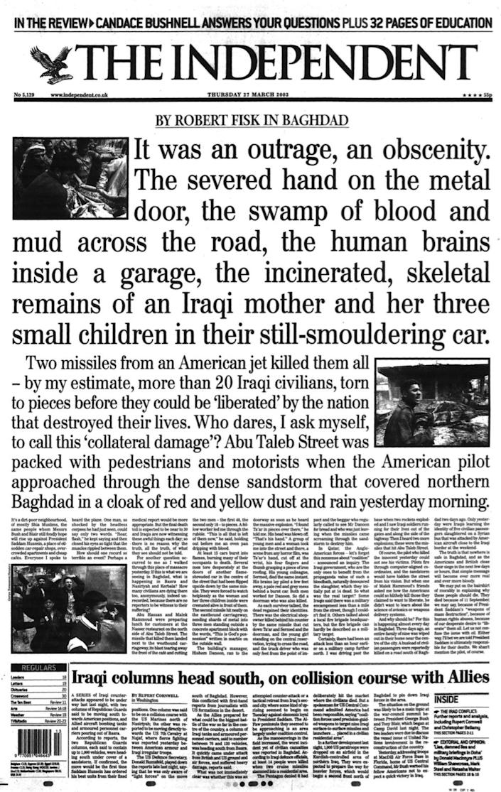 <p>From the original report into the bombing</p>The Independent