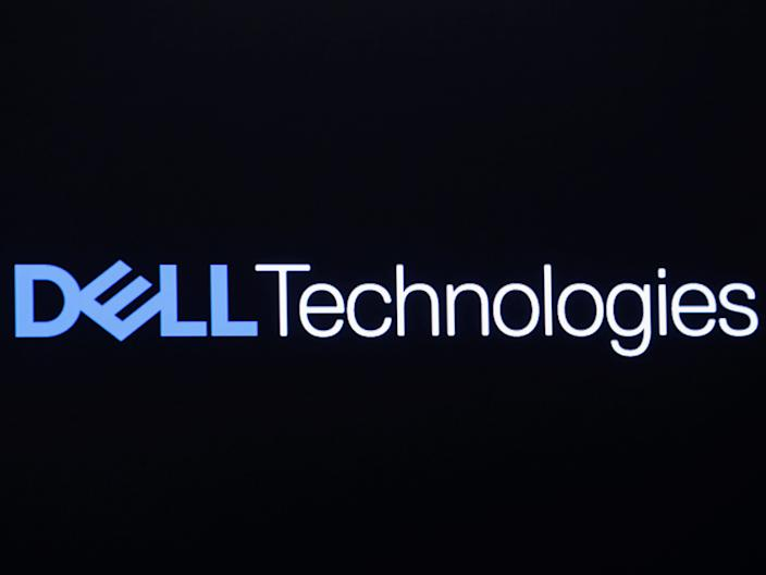 "The logo for Dell Technologies Inc. is displayed on a screen on the floor of the New York Stock Exchange. <p class=""copyright"">Reuters</p>"
