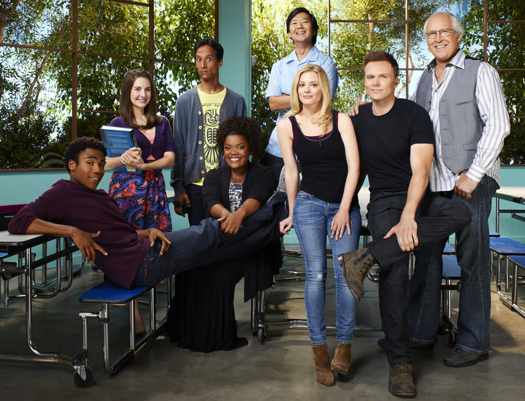 """<p><b>""""Community""""<br><br></b> </p><p><b>What:</b> The """"Community"""" cast members (minus Donald Glover and Chevy Chase) make their first public appearance since getting their hard-fought renewal -- and losing their creator, Dan Harmon.<br><br> <b>When:</b> Friday, 10am; Ballroom 20<br>  <b><br>Appropriate Wait Time:</b> Two hours. This could be the last time we see this group of people together onstage at Comic-Con, at least until inevitable """"Community"""" 20th anniversary panel in 2029. And we're <em>very</em> curious to see how they handle the still-delicate Harmon situation.</p>"""