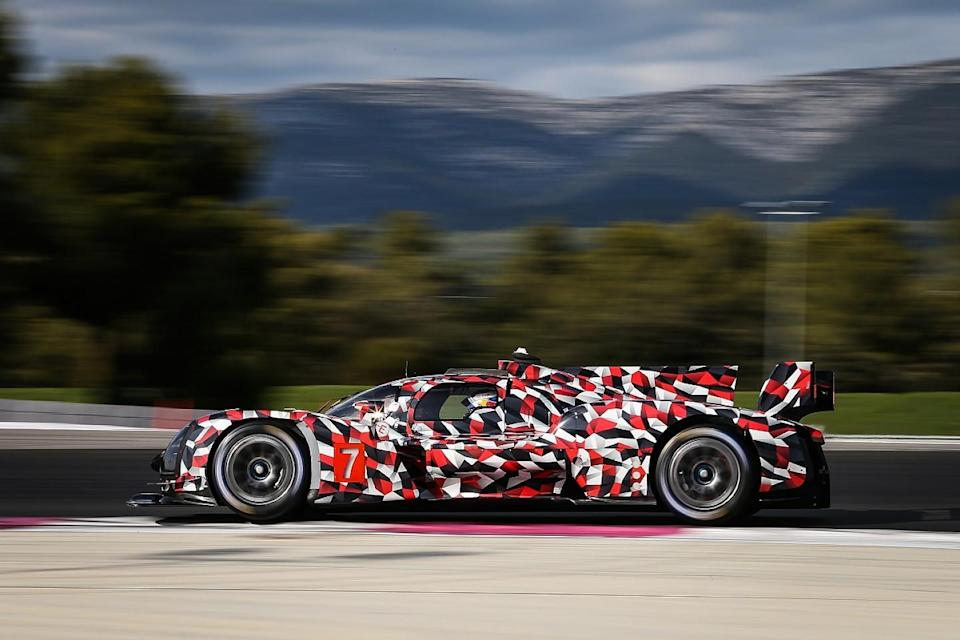 Toyota reveals first images of GR010 HYBRID Hypercar