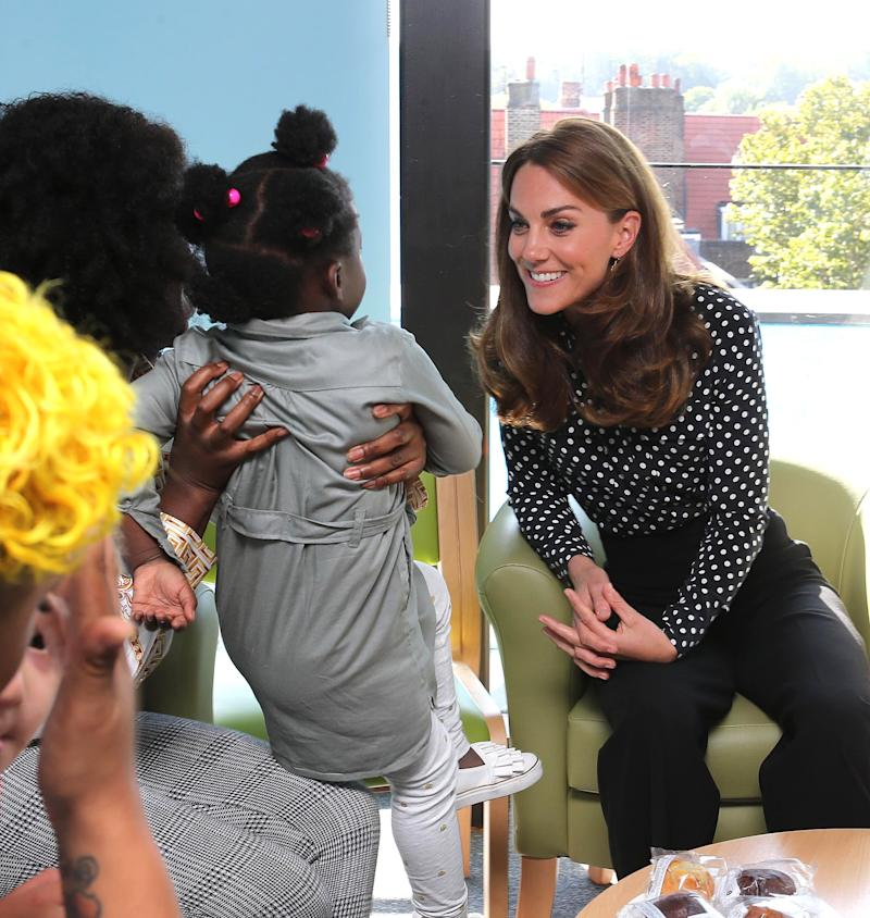 'Hands-on' Royal Mom Kate Middleton Steps Out in Support of First-Time Parents