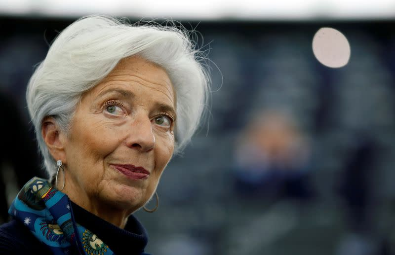 Banks must step up climate risk disclosures, Lagarde says