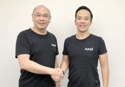 Joined as Chief Investment Officer, Vic Tham (left) brings 30 years of finance, banking, and exchange experience to Pundi X