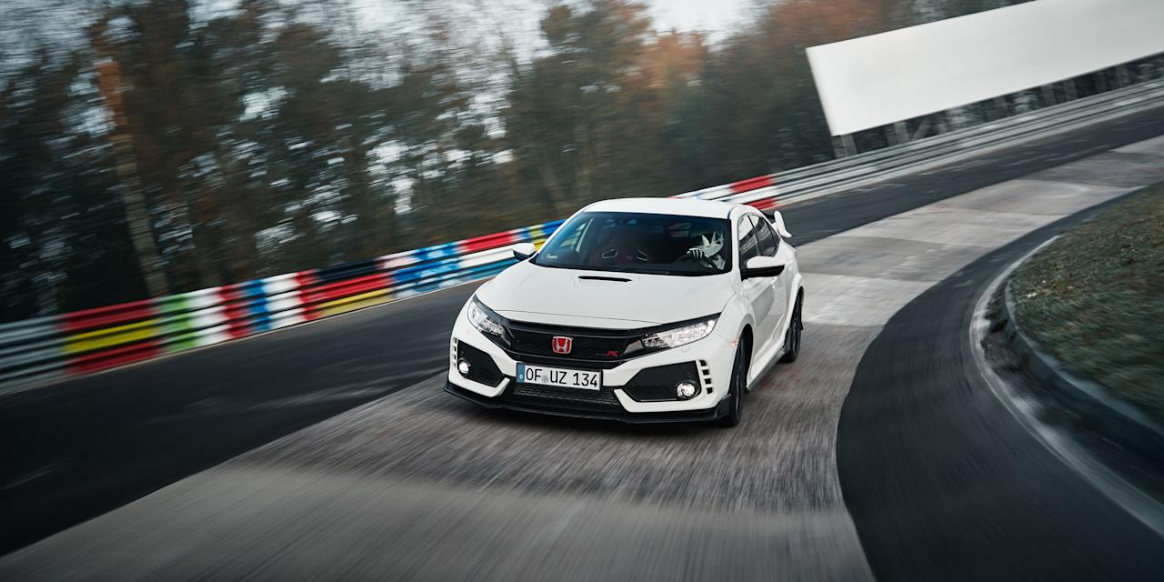 <p>Hatchbacks, fastbacks, SUVs and sedans - these aren't the first cars you'd think of as Nurburgring record-setters. But these high-performance haulers put down some serious lap times on the Nordschleife. If it's got four doors for passengers to get in and out of, and a kick-ass 'Ring time, it's on this list. </p>