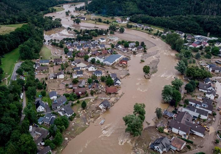 Germany Floods Disinformation (Copyright 2021 The Associated Press. All rights reserved)