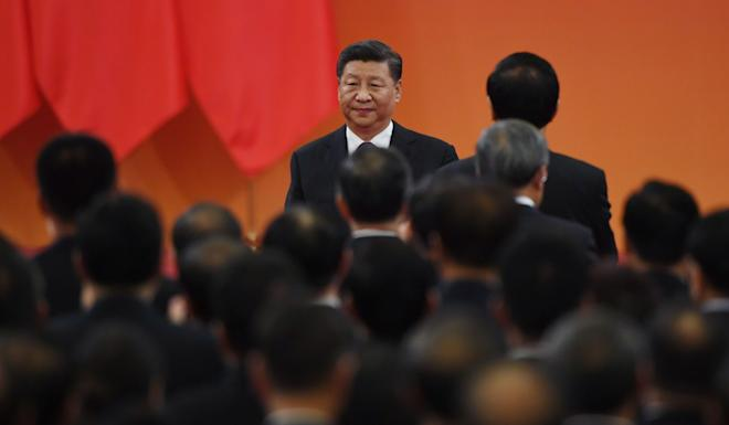 "During a speech in September, President Xi Jinping said ""national role models"" were needed for ethnic unity and progress. Photo: AFP"