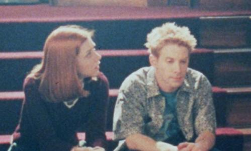 Willow and Oz, subjects of a painful werewolf-related breakup in Buffy