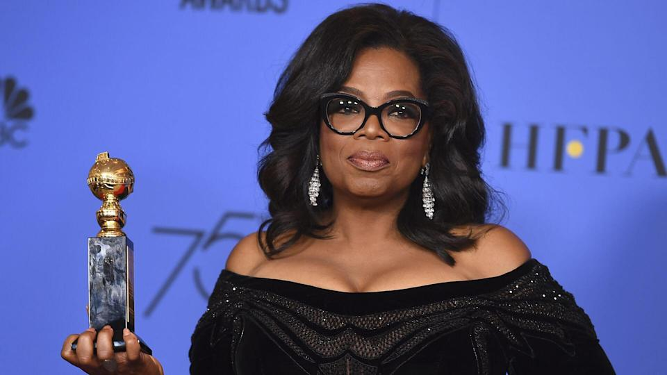 <p>Given her commitment to empowering women, it's no surprise that Winfrey has contributed to the Time's Up campaign. She's reportedly donated $100,000 to the cause as of January 2018, according to CNBC.</p> <p>Created to address inequality and injustice in the workplace, the Time's Up movement seeks to improve laws, employment agreements and corporate policies to hold accountable those who discriminate and harass.</p> <p><small>Image Credits: Jordan Strauss/Invision/AP/REX/Shutterstock</small></p>