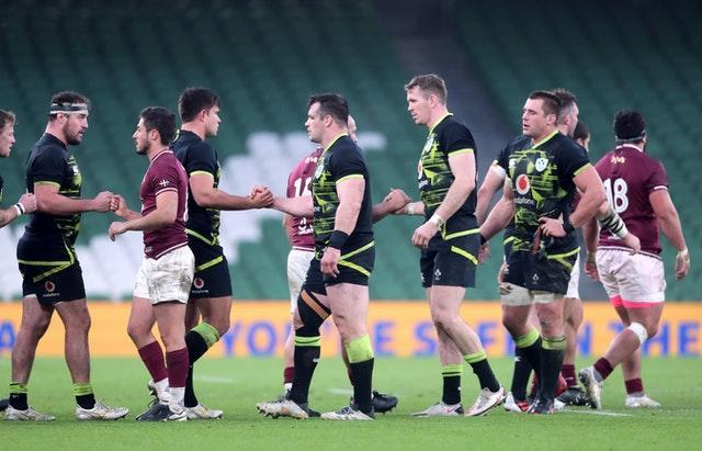 Ireland failed to convince against Georgia