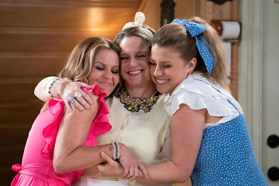 <p>Viewers got to revisit the Tanners for five seasons of family-friendly bliss on the Netflix revival of <em>Full House</em>. The original series ran from 1987-1995, and the reboot debuted 21 years after the fact, in 2016. This time, the show focused on a grown-up DJ Tanner (Candace Cameron Bure) as she raised her young family with the help of her sister, Stephanie (Jodie Sweetin), and best friend, Kimmy (Andrea Barber). Many of the show's other original stars, including Bob Saget, John Stamos, and Dave Coulier, made cameo appearances as well.</p>