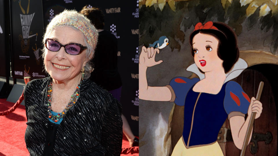 Marge Champion was the model for Snow White. (Credit: Michael Buckner/WireImage/Disney)