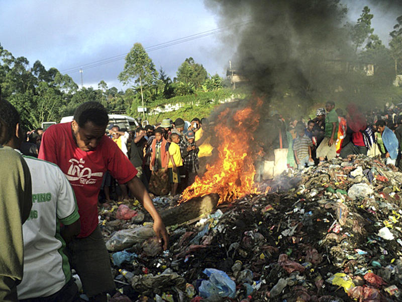 Witch hunts in Papua New Guinea linked to jealousy