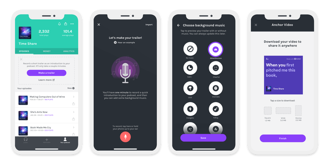 Spotify Podcast App Anchor Now Helps You Create A Trailer