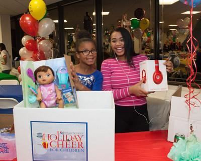 "Henry Schein, Inc. is celebrating the holidays this December with more than 1,000 underserved children and their families through its 19th annual ""Holiday Cheer for Children"" program, a flagship corporate initiative designed to ensure that participating children around the world enjoy a fun and festive holiday season."
