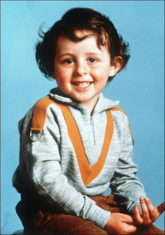 Tragic: This photo of four-year-old Gregory Villemin was taken the year that he died