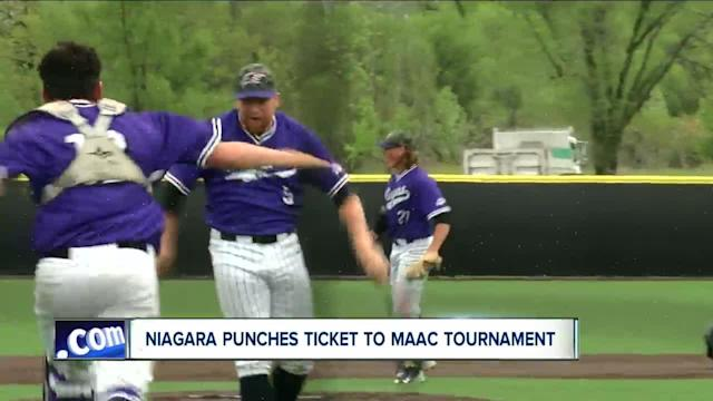 Niagara baseball punches ticket to MAAC Tournament for first time since 2006