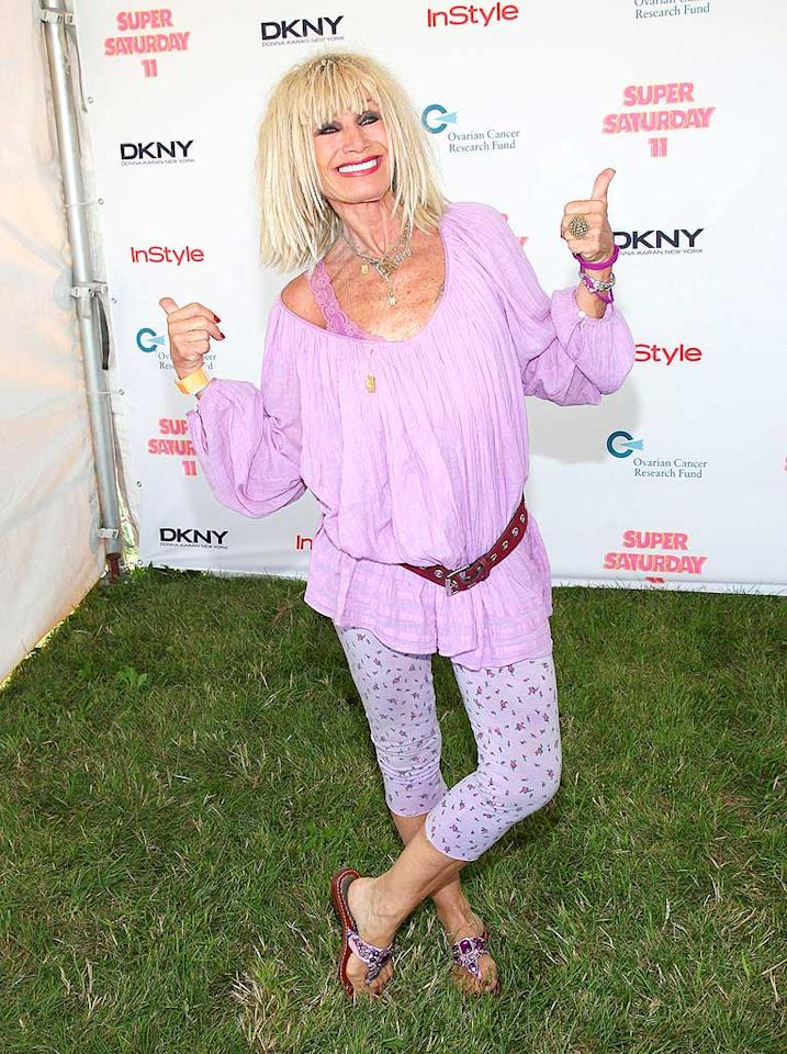 "We expect Betsey Johnson to don daring outfits, but it's definitely time for her to ditch that hair-don't. Jason Kempin/<a href=""http://www.wireimage.com"" target=""new"">WireImage.com</a> - July 26, 2008"
