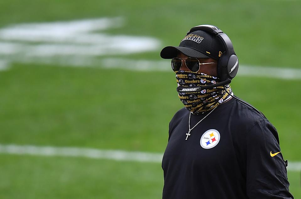 Steelers head coach Mike Tomlin doesn't want to hear excuses for his team's sudden bye week change. (Photo by Joe Sargent/Getty Images)