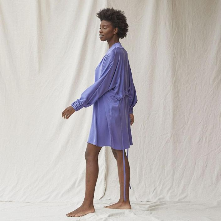 "Available in eight other colors, Lunya's washable silk robe is a low-maintenance option to add to your rotation. It has a loose fit and the cuffed sleeves allow you to move about your kitchen and bathroom with ease. We love the fact that it's a luxe fabric but you can still throw it in the laundry machine worry-free. $248, Lunya. <a href=""https://www.lunya.co/collections/robes/products/washable-silk-robe?"" rel=""nofollow noopener"" target=""_blank"" data-ylk=""slk:Get it now!"" class=""link rapid-noclick-resp"">Get it now!</a>"