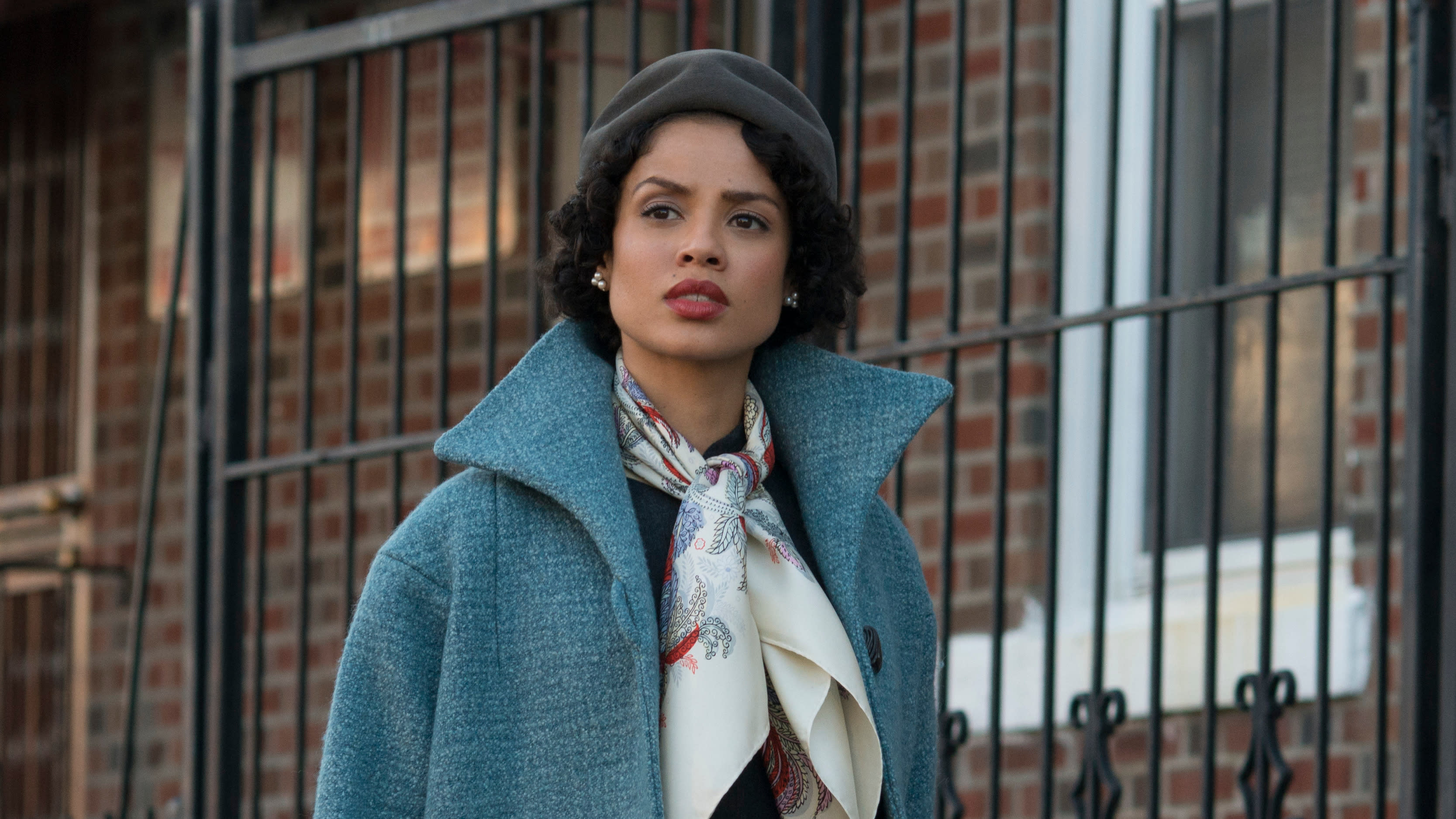 Gugu Mbatha-Raw in 'Motherless Brooklyn'. (Credit: Glen Wilson/Warner Bros)