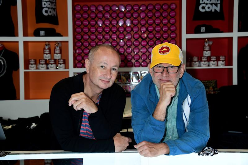 Randy Barbato, Fenton Bailey during the 2019 RuPaul's DragCon New York. (Photo: Jennifer Graylock/Graylock.com)