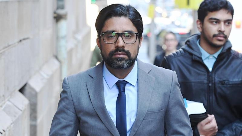 Kulwinder Singh is on trial for the murder of his wife who had burns to 90 per cent of her body