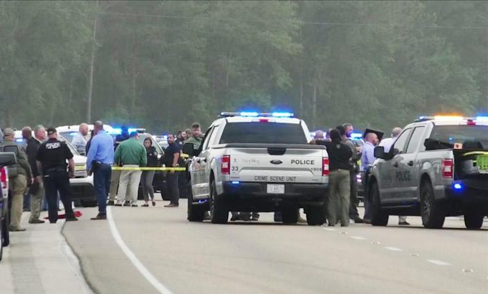 IMAGE: A 4-month-old child was shot during a police chase in South Mississippi on Monday (WXXV)