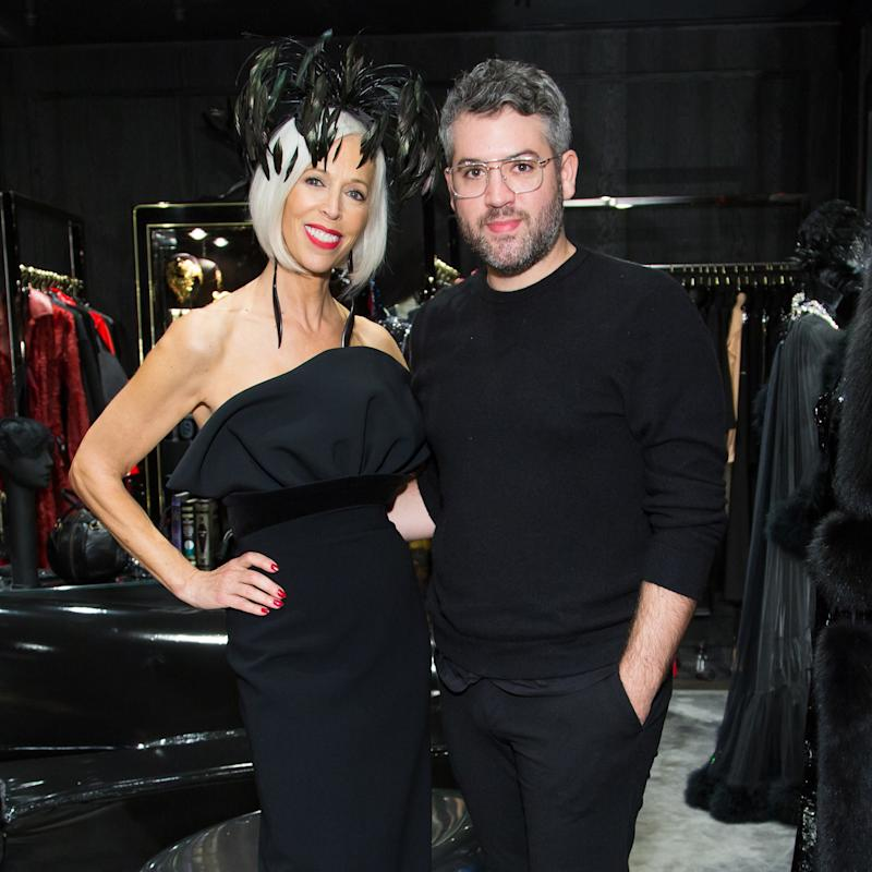 e8f098383505 Brandon Maxwell and Linda Fargo Celebrate All-Black Everything at the  Launch of Noir at Bergdorf Goodman