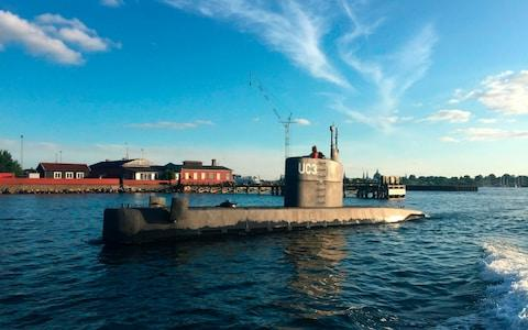 Kim Wall aboard the Nautilus - Credit: OUTANDERS VALDSTED/AFP/Getty Images