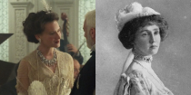<p>Though she's barely in the movie, the Countess of Rothes, played by Rochelle Rose, was actually a heroine of the <em>Titanic </em>disaster. She helped steer her lifeboat away from the sinking ship and then to the rescue ship. She was also mentioned in <em>Downton Abbey</em> as being someone that the Crawleys had seen shortly before the sinking. (Remember? Matthew only inherited because some other Crawley relative died on the <em>Titanic</em>.) </p>