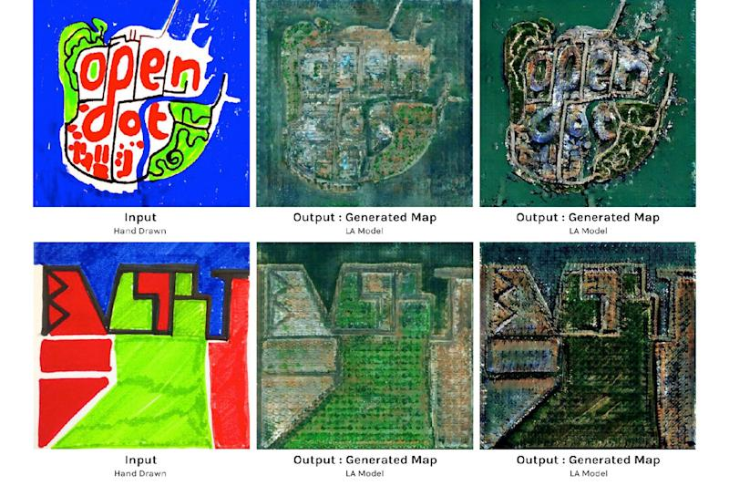 imaginary cities neural network invisible patchwork