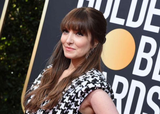 PHOTO: Lorene Scafaria arrives at the 77th annual Golden Globe Awards at the Beverly Hilton Hotel, Jan. 5, 2020, in Beverly Hills, Calif. (Jordan Strauss/Invision/AP)